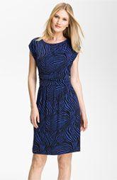 Chaus Zebra Print Dress