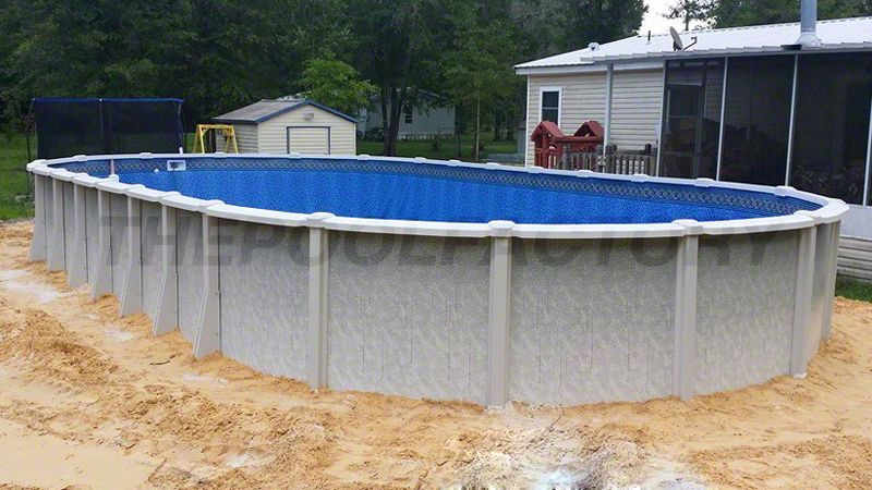 View Customer Submitted Photos Of Our Saltwater 8000 Swimming Pool Model Available In Both Roun Saltwater Pool Swimming Pools Backyard Swimming Pool Galleries
