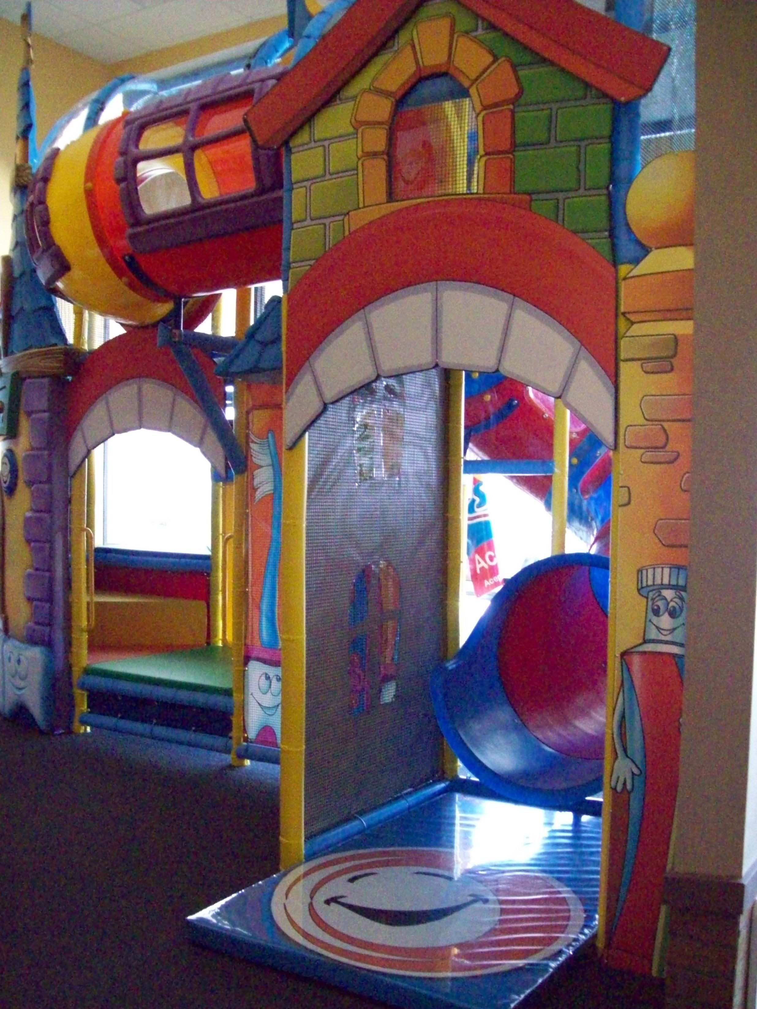 Themed indoor playground at a medical office We can design any