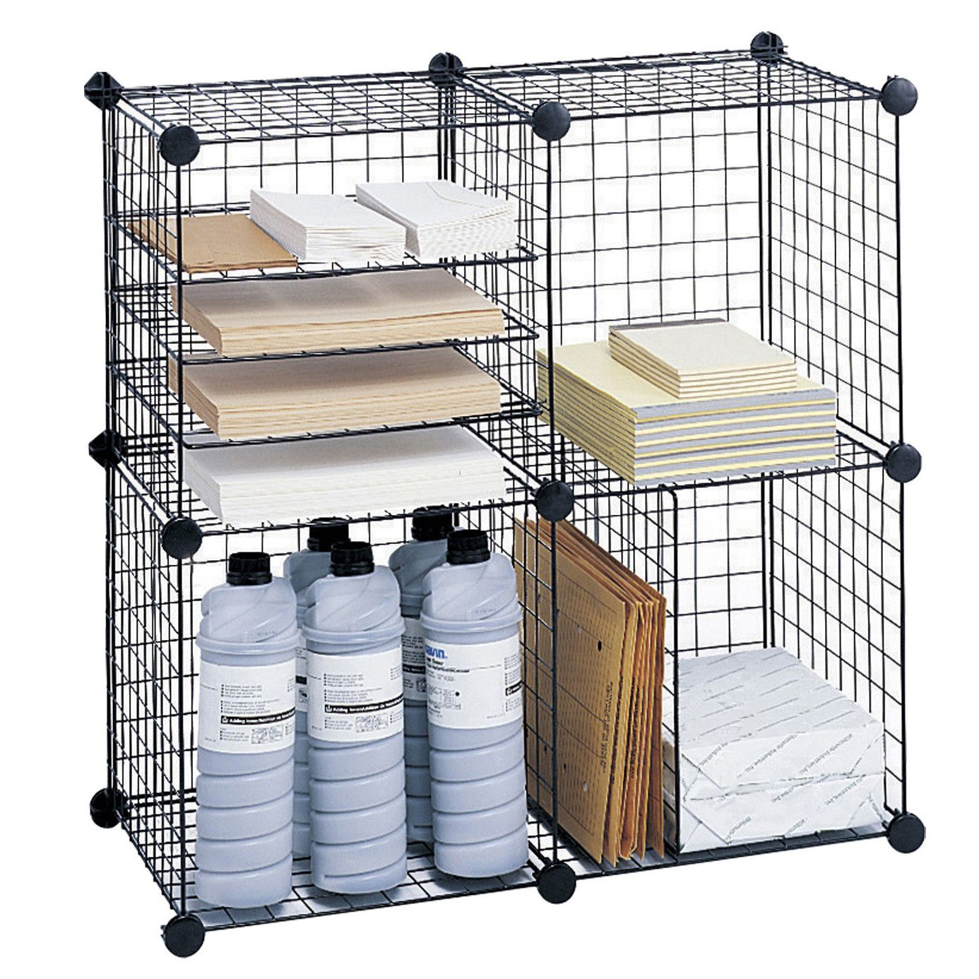 Wire Cube Shelving System Cube Storage Cube Bookcase Wire Storage