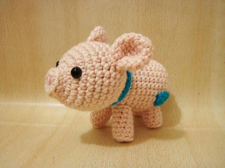 Puerquito | Piggy :8) | Pinterest | Tejido, Animales tejidos y ...