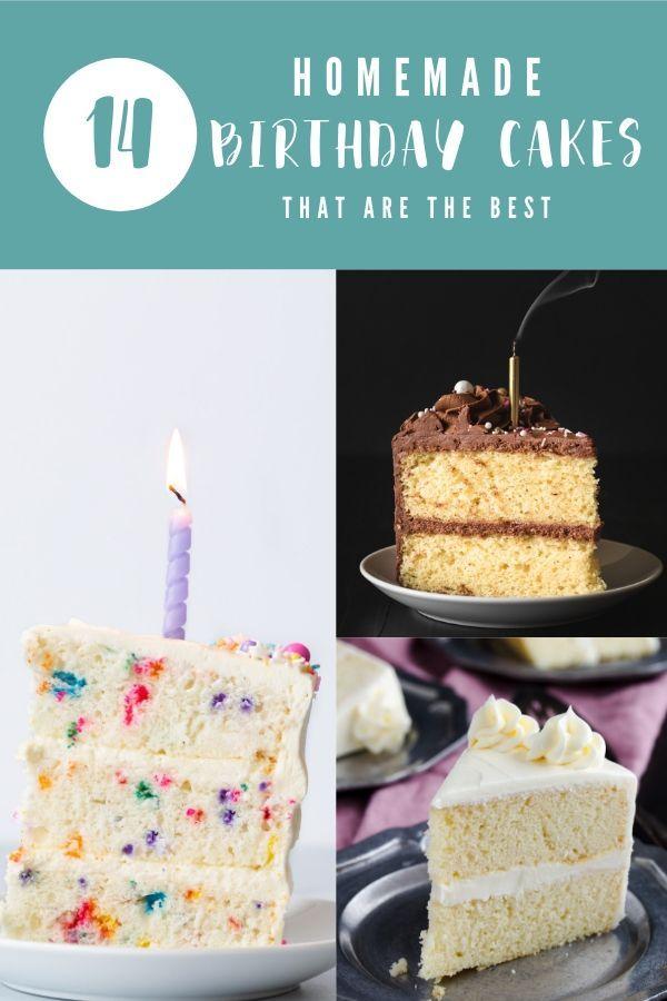 Super 14 Of The Best Homemade Birthday Cake Recipes Cake Birthday Personalised Birthday Cards Paralily Jamesorg