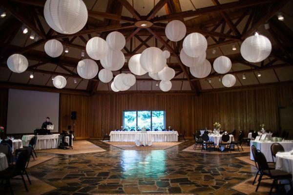 Lovely White Paper Lanterns Photo By S Studios