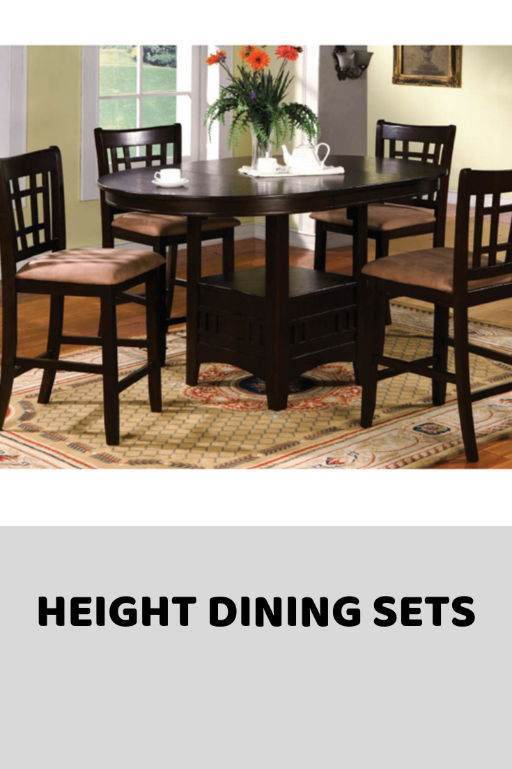 Heigh Dining Sets Pub Style Dining Sets Dining Room Table