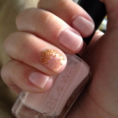 Nails With Micro Beads Blending Beautiful Hot Or Not Nail Art