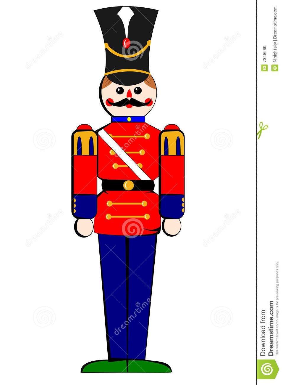 wooden christmas toy soldiers stock photo isolated toy wooden soldier