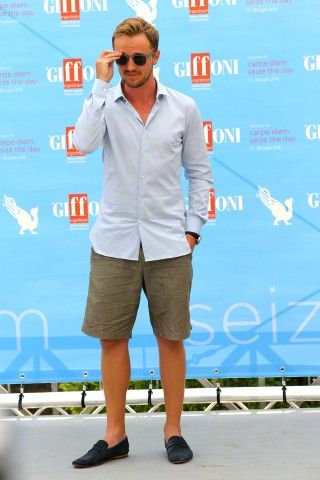 Giffoni Film Festival - Italy 2015 - Tom Felton