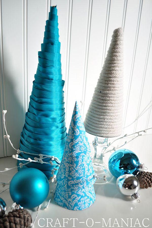 20+ DIY Mini Christmas Tree Decor Ideas U2014 Make These Simple Mini Christmas  Trees Perfect