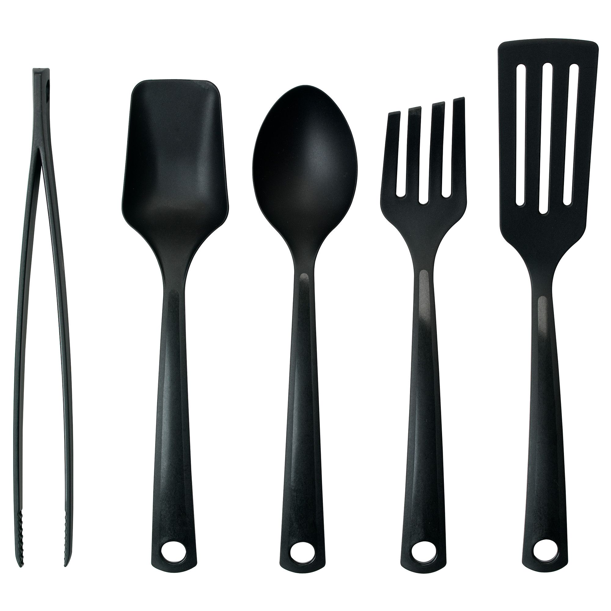 Gnarp 5 Piece Kitchen Utensil Set Ikea
