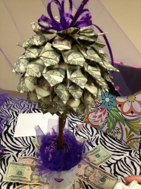 Baby Shower Money Tree Craft Ideas Pinterest Money Trees Gift