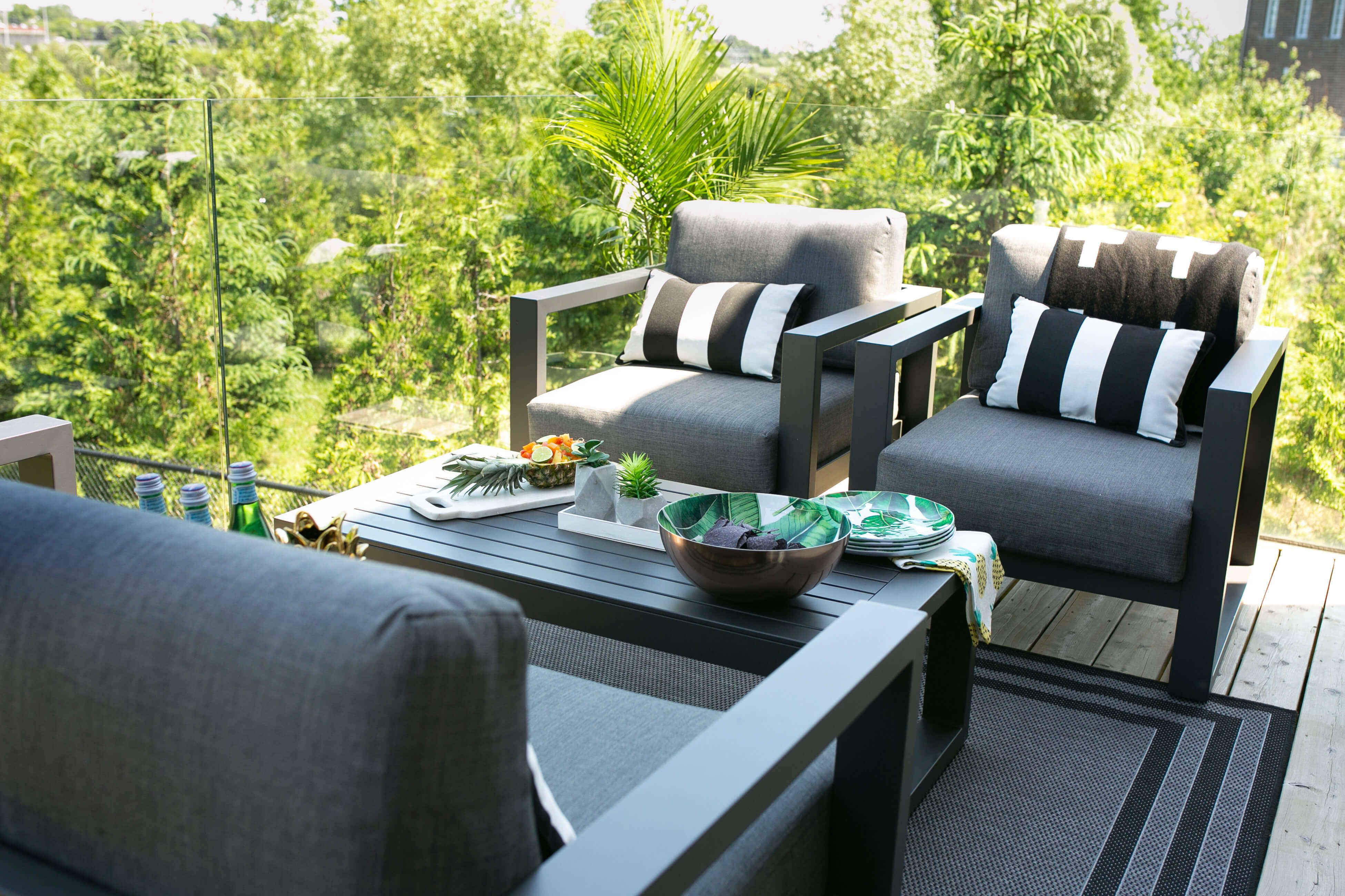 Our Patio Makeover With The Home Depot Patio Makeover Outdoor Furniture Sets Patio