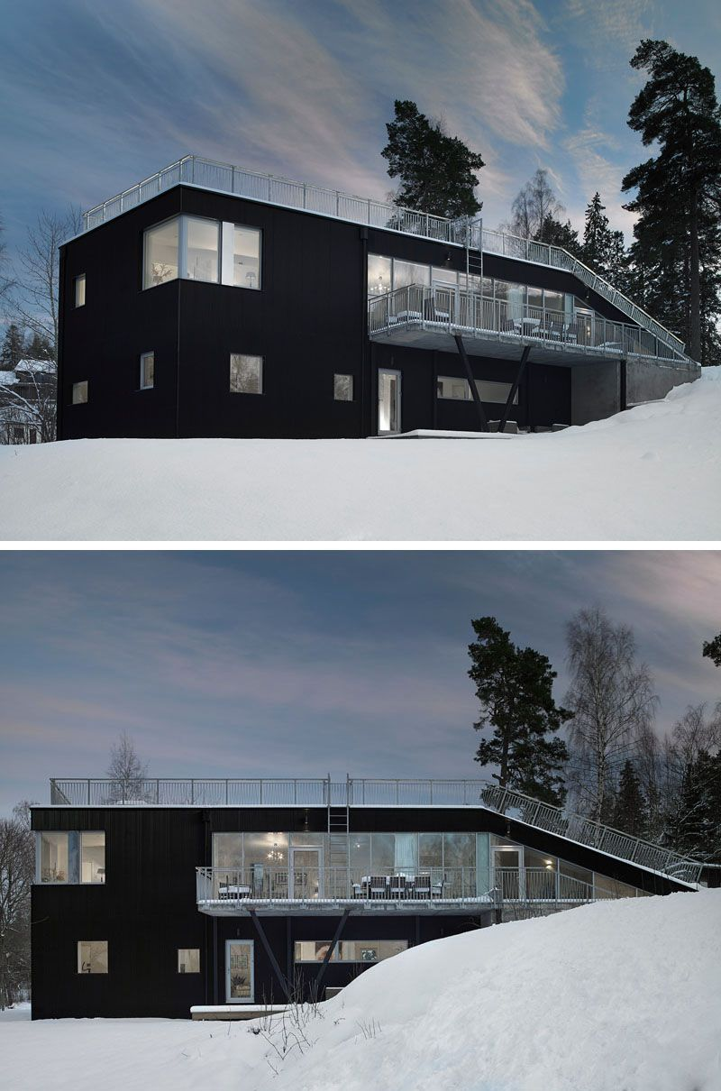 19 Examples Of Modern Scandinavian House Designs House Designs Exterior Scandinavian Modern House Scandinavian Architecture