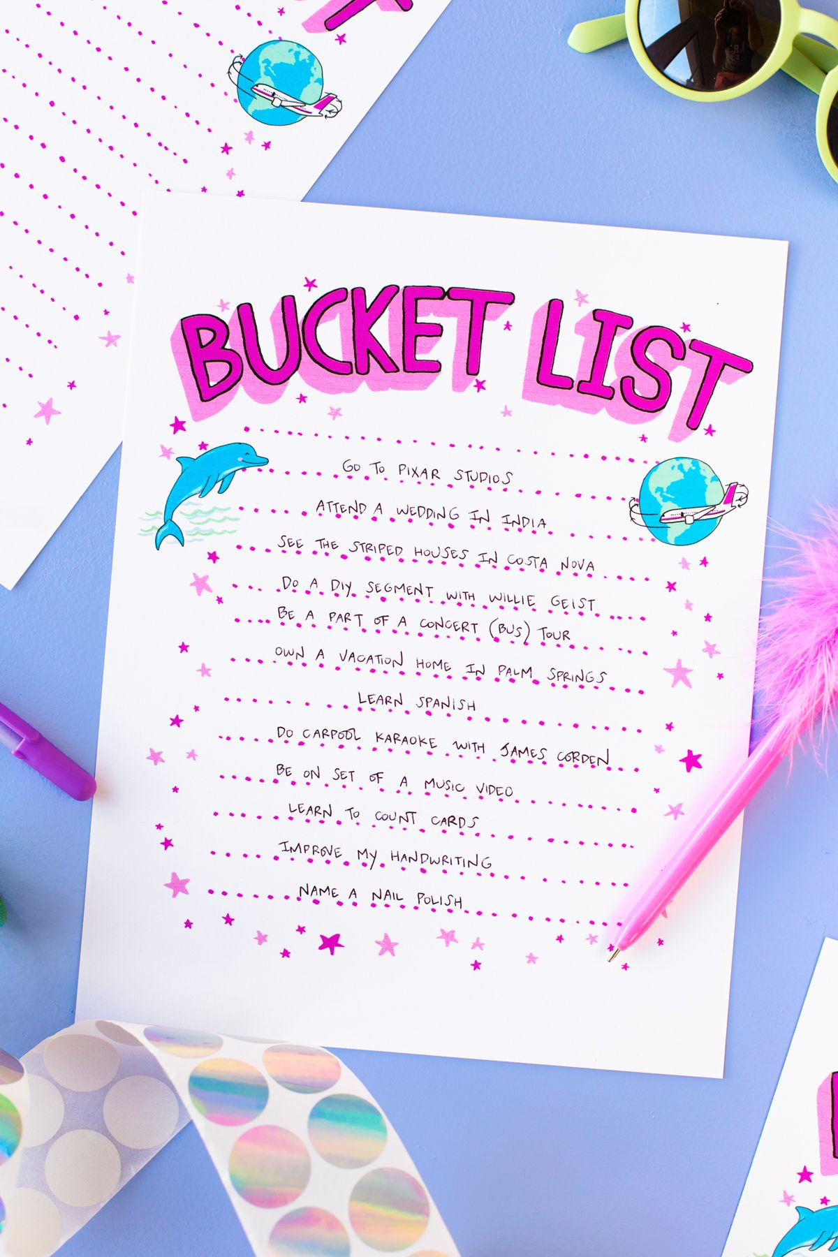 My Bucket List What S On Yours