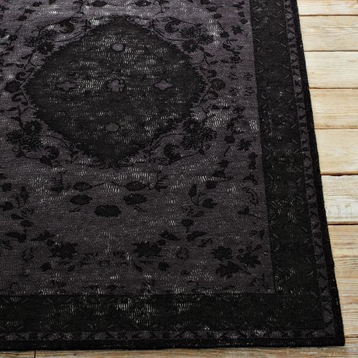 Mira Wool Rug West Elm Quot Black Magic Handcrafted In