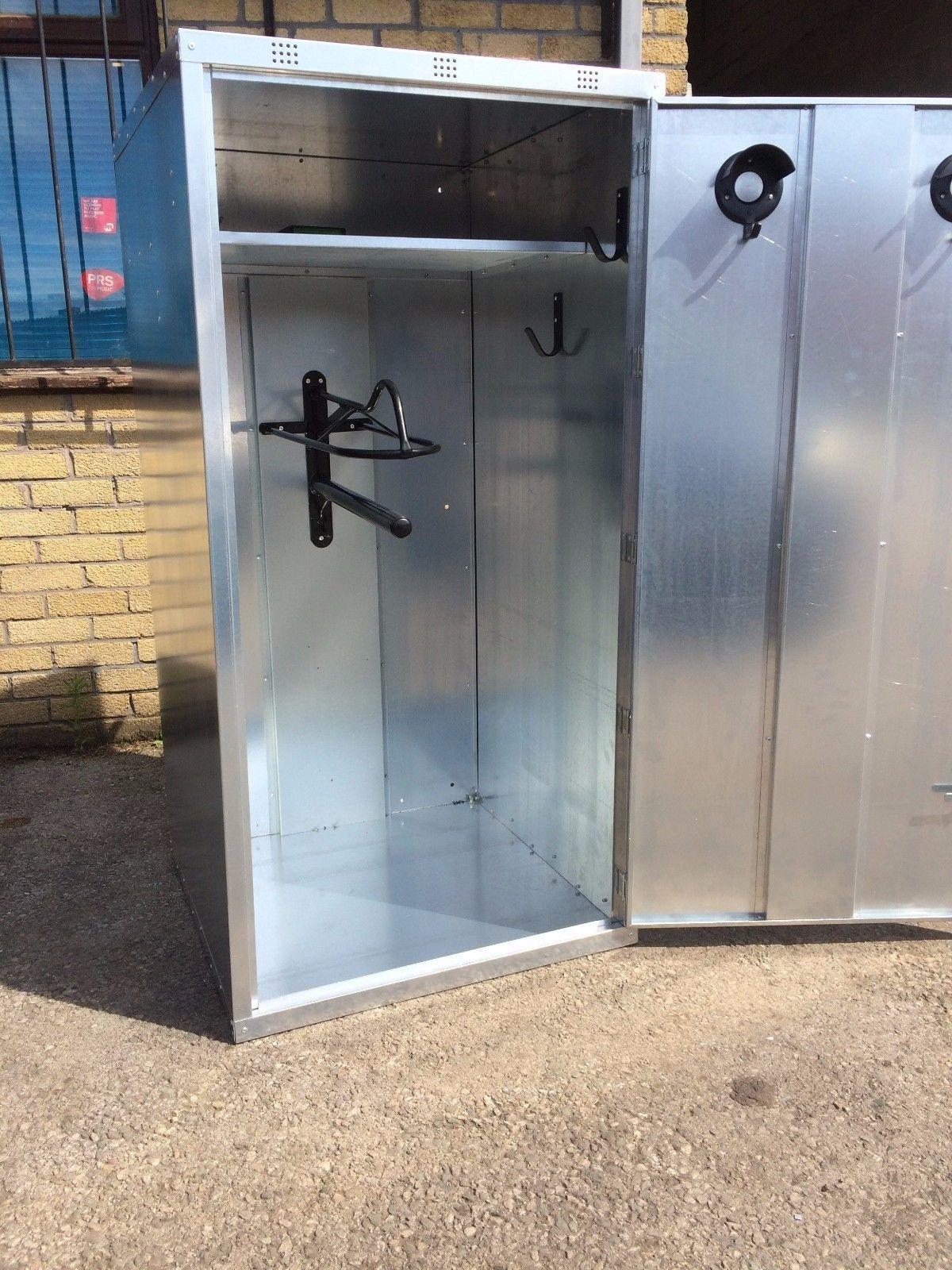 Ani-Mate 2 Saddle Storage Tack Locker Galvanised Vermin Proof Fully Assembled