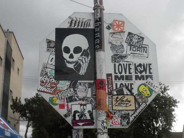 Outdoor Stickers 50 Amazing Street Art Sticker Collaborations