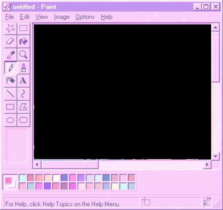 Ms Paint Mspaint Pink Aesthetic Edit Microsoft Microsoftpaint Freetoedit Remixit Bingkai Polaroid Perencanaan Bingkai Foto