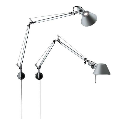 Lovin The Swing Arm Wall Lighting Design Wall Mounted Light Artemide Tolomeo Wall