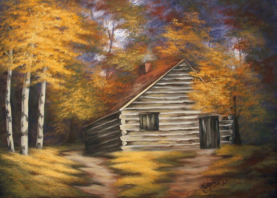 Cabin in the woods cabin woods and paintings Texas cabins in the woods