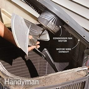 Air Conditioner Troublshooting And Repair Air Conditioner Repair Diy Air Conditioner Air Conditioning Services
