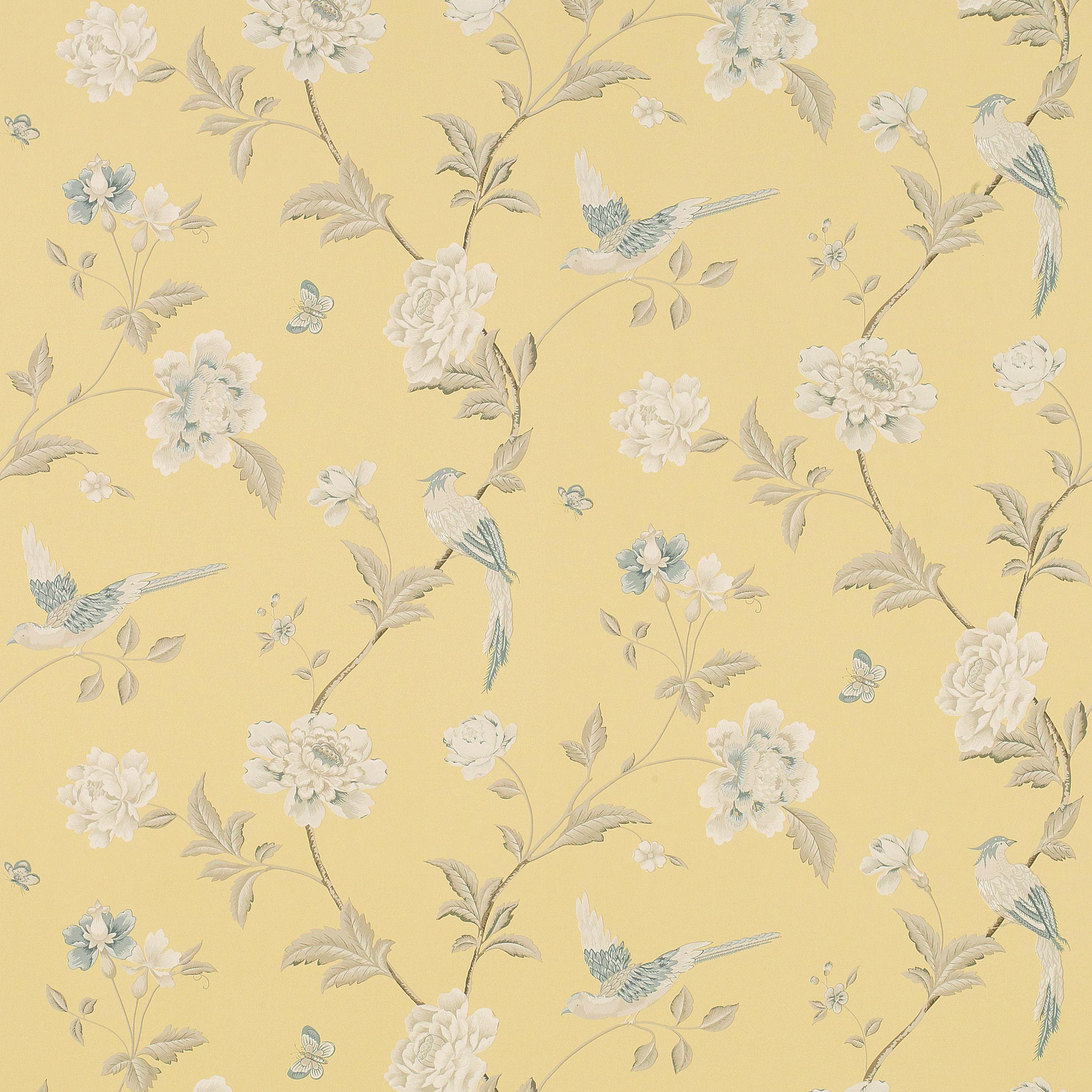 Elveden Camomile Wallpaper An Elegant Archive Print Depicting
