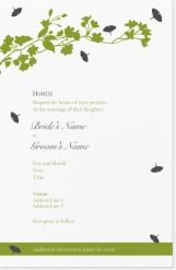 bouquet floral Invitations & Announcements