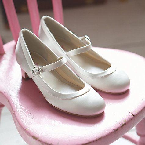 Rainbow Club Maisie Ivory White Satin Bridesmaid Flower Girl Occasion Communion