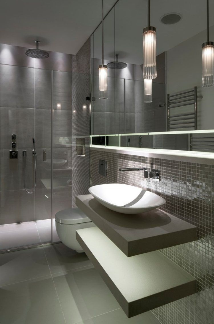 badezimmer fliesen 2015 in Grau liegen voll im Trend | Bad ...