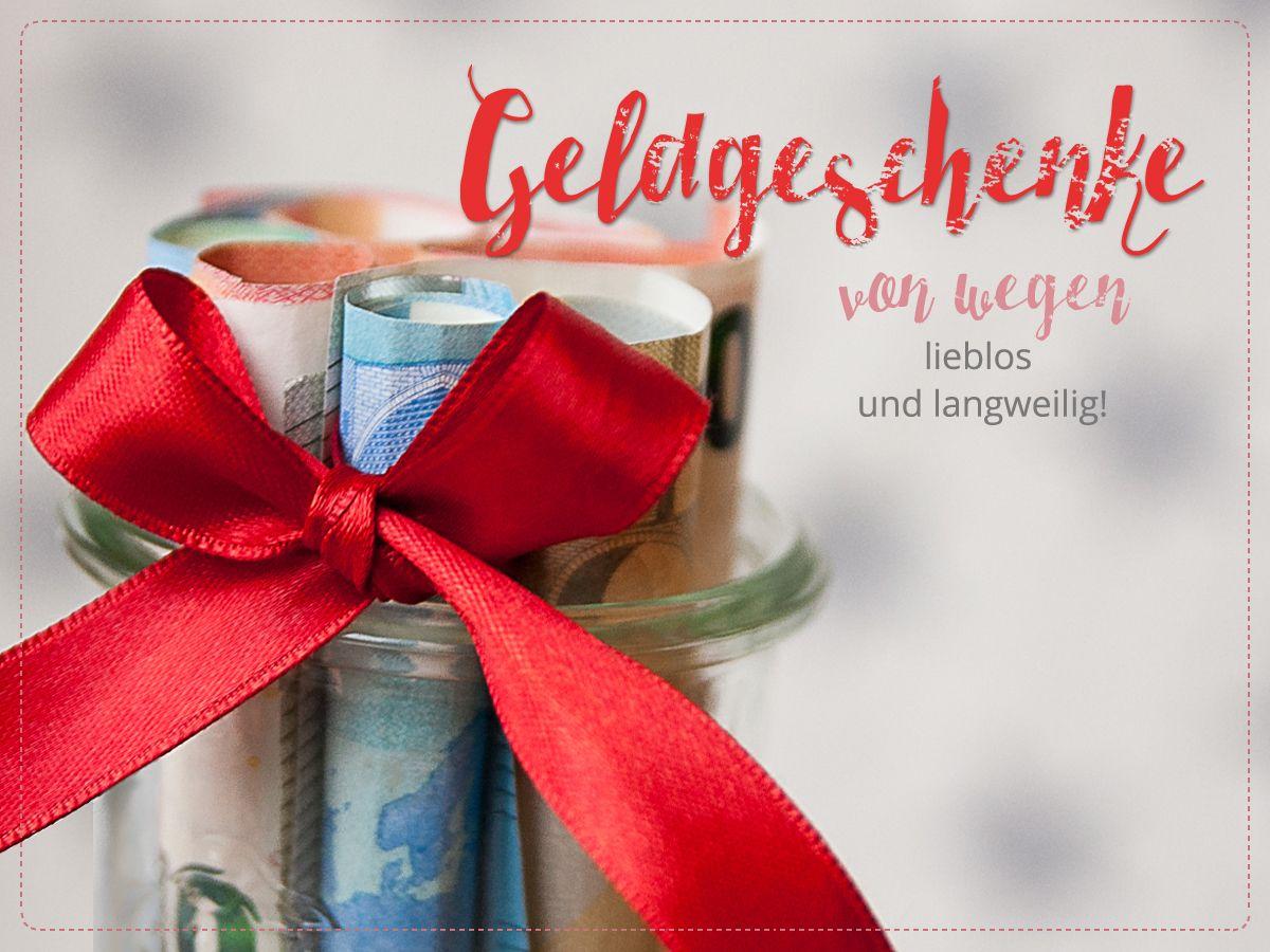 Geldgeschenke – von wegen langweilig und lieblos! • Hanra Gruß- und Glückwunschkarten • www.hanra.de