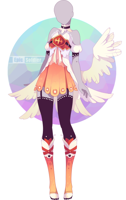 Outfit adoptable 62 (OPEN!!) by Epic-Soldier | clothes | Pinterest | Anime Anime outfits and ...
