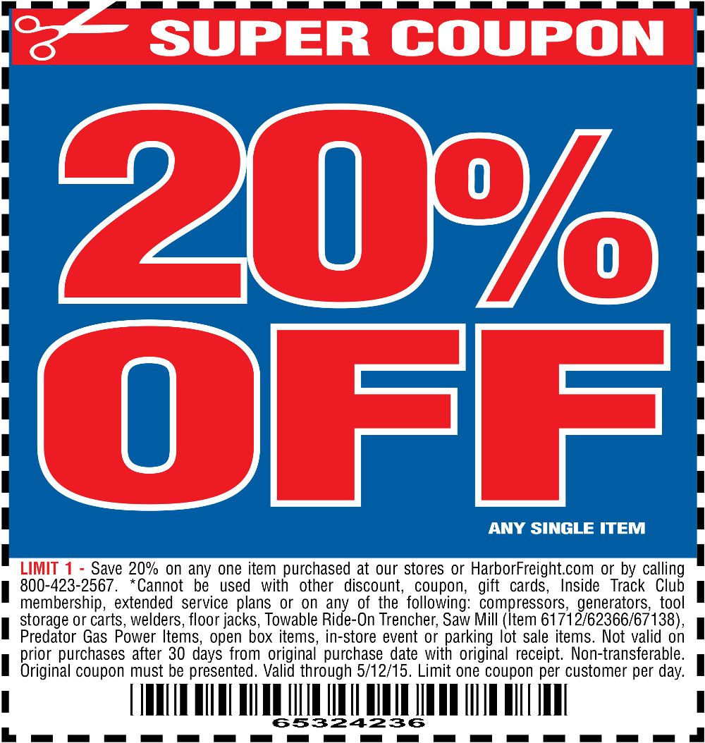 attachment.php (1000×1054) Harbor freight coupon