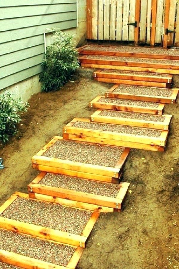 Best Slippery Wood Stairs Outdoor Wooden Stairs Backyard Wood 400 x 300