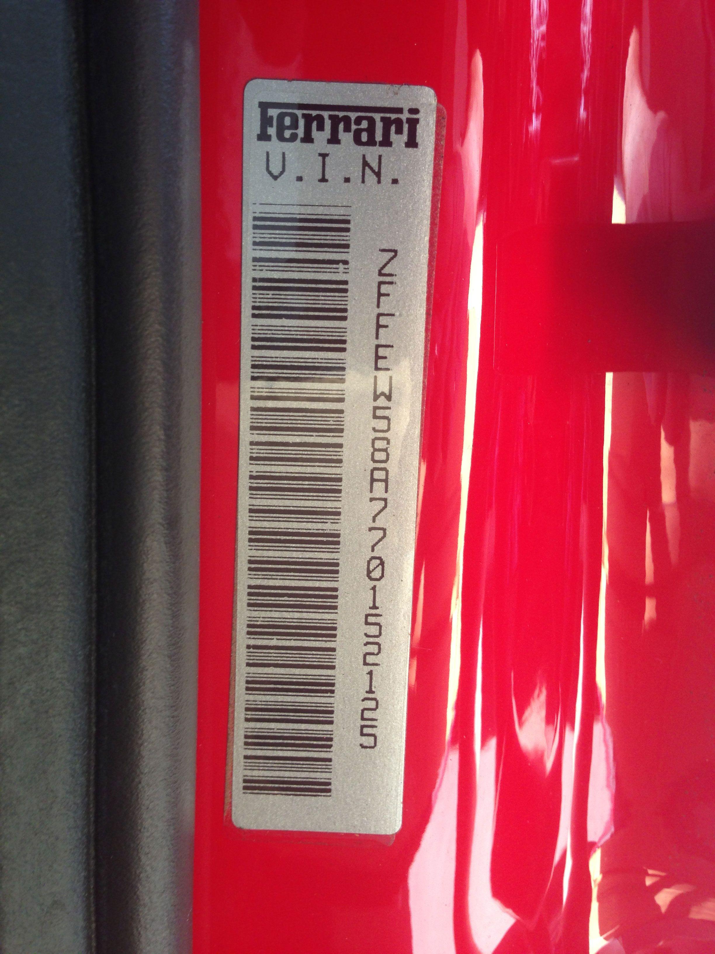 2007 Ferrari F430 F1 Vin Ferrari f430 f1, Ferrari f430