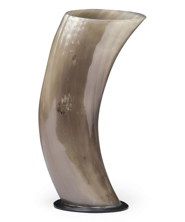 Delightful Look At This Gray Buffalo Horn Vase On #zulily Today!