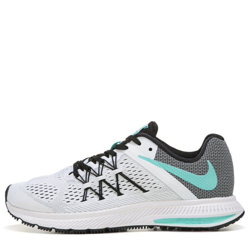 Nike Nike Nike Mujer Zoom Winflo 3 Running Zapatos (blanco/Turquoise)   Pinterest d4d984