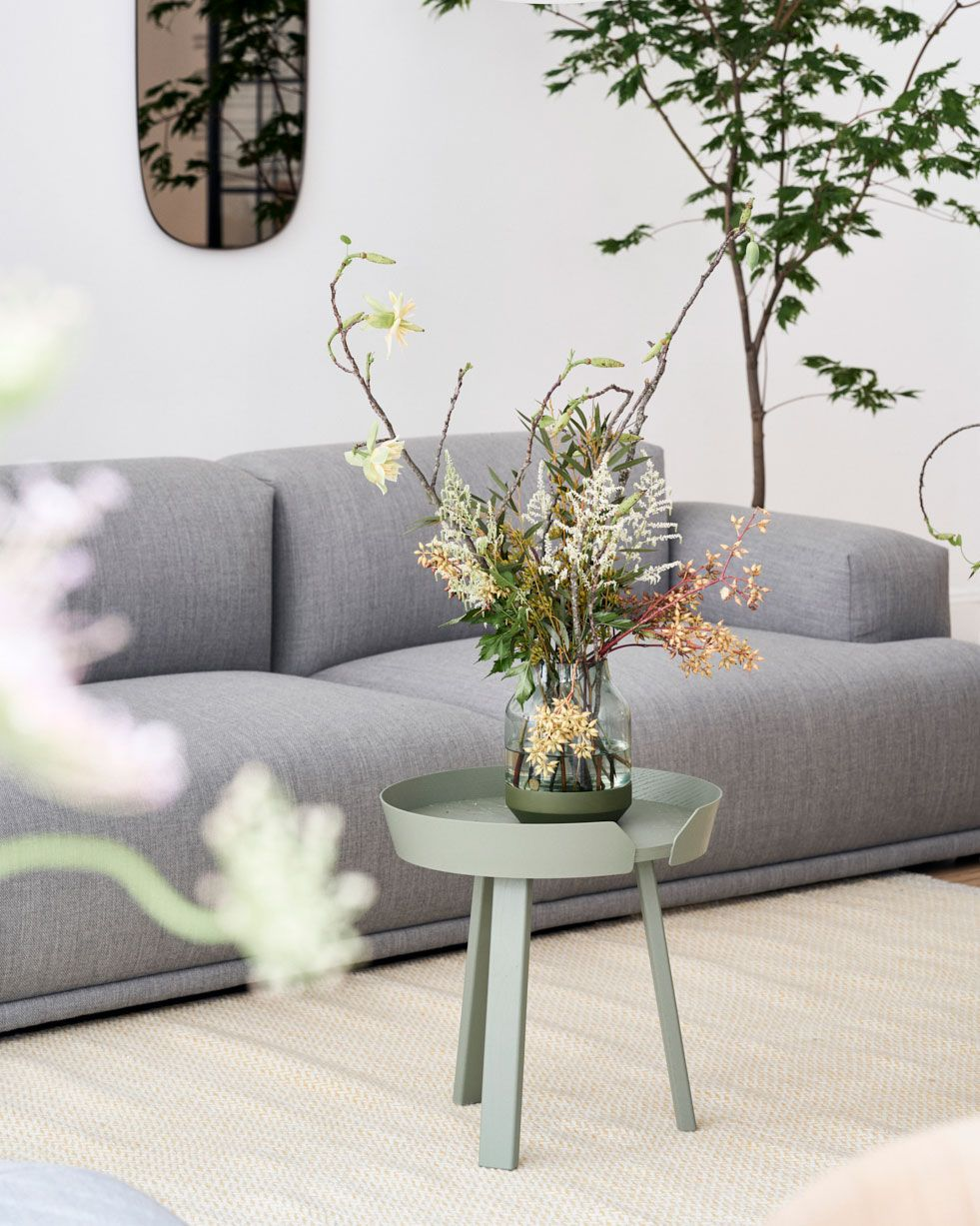 Interior Decor Inspiration For Spring Flower Decorations From Muuto A Form In Mouth Blown Glass The Silent Vase Is Scandinavian Design At Its Subtlest Availa
