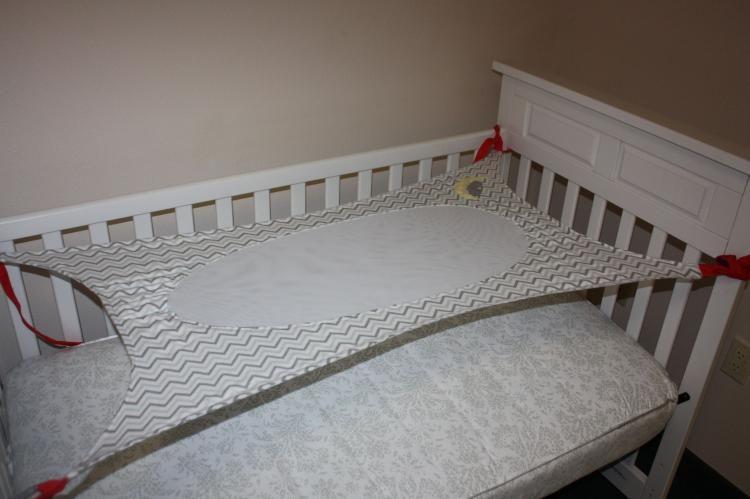 Crescent Womb Newborn Crib Hammock   Newborn Safety Bed   Reduces Risk Of  Sids