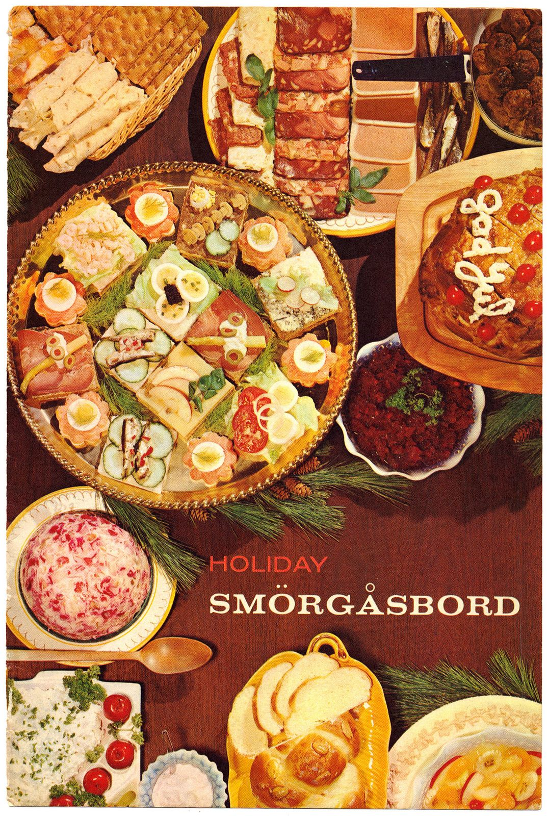 Holiday Smorgasbord 1960 Page 00 Scandinavian Food Holiday Entertaining Food Swedish Recipes