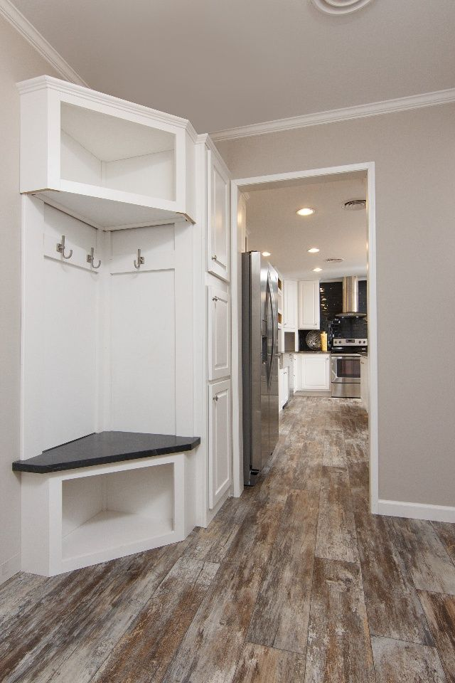 That    good use of small useless corner view more tiny home design tricks show up in manufactured homes also ways is used and modular rh pinterest