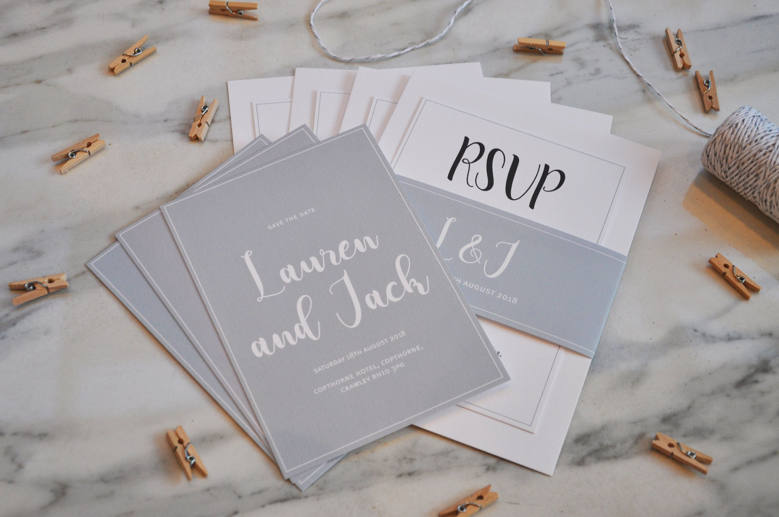 Handmade personalised and bespoke Wedding Stationery