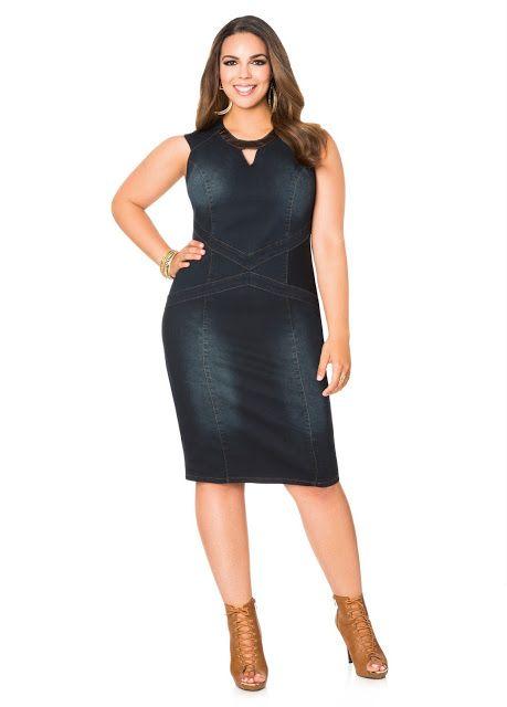 e8dc6e322bc5 Vestidos para gorditas - Especial vestidos tallas XL | moda combina ...