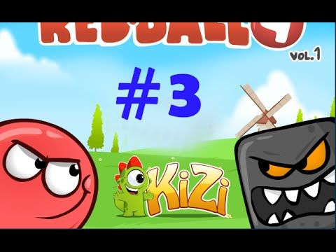 Red Ball 4 Volume 1 Gameplay Part 3 Fun Free Games Red Ball