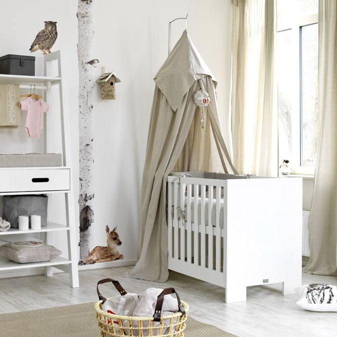 mooie inrichting complete babykamer voor jongen of meisje, Deco ideeën