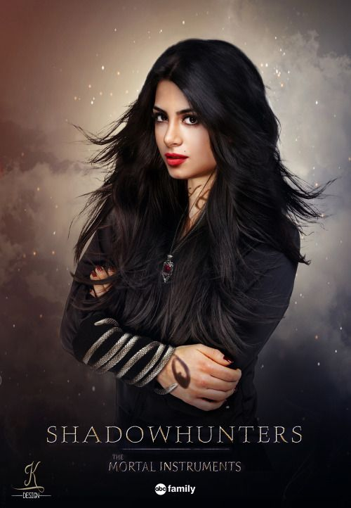 Emeraude Toubia As Isabelle Lightwood Shadowhunters Fanmade Poster
