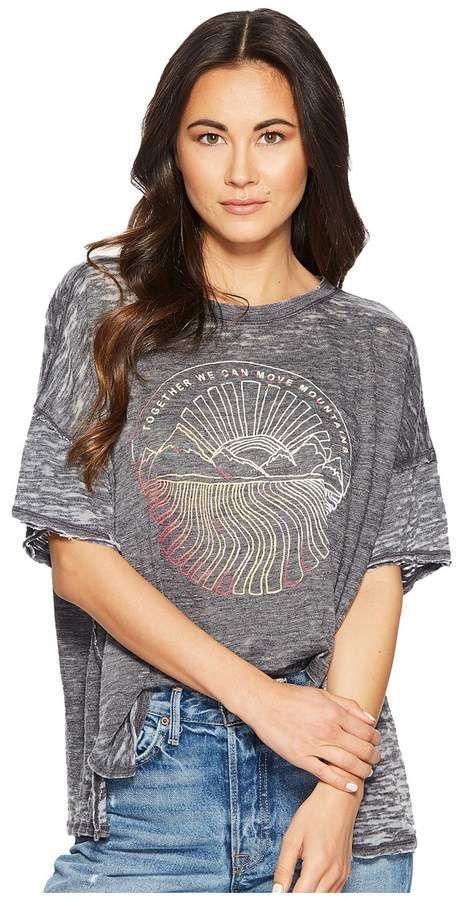 0f45f2fb92e5 Free People Graphic Jordan Tee Women s T Shirt Clothes