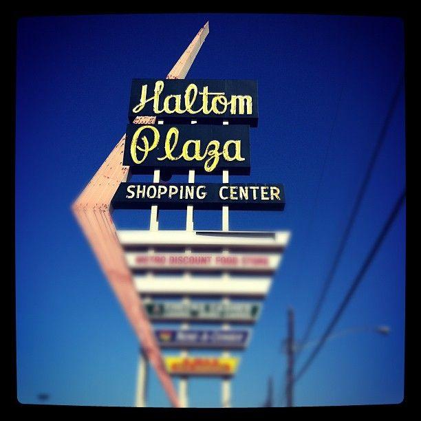North Hills At Town Center: Haltom Plaza Shopping Center In Haltom City, Texas By