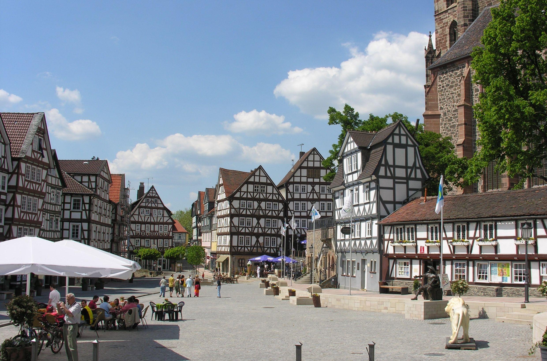 Homberg (Efze) : Marktplatz Homberg (mit Bildern
