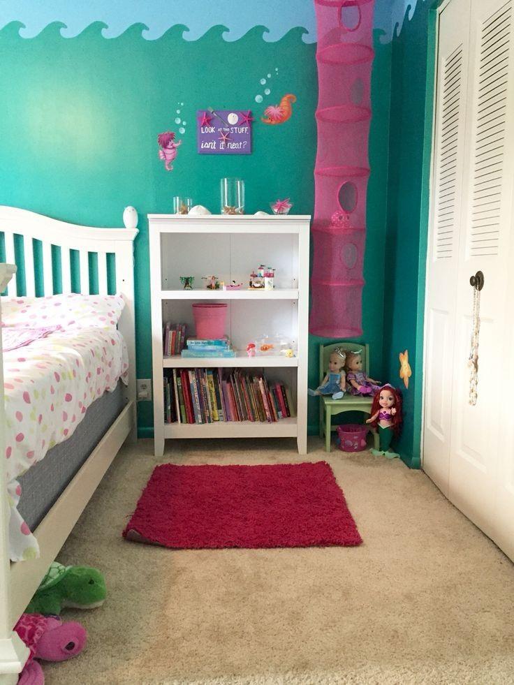 30 cute mermaid themed girl bedroom ideas  toddler room