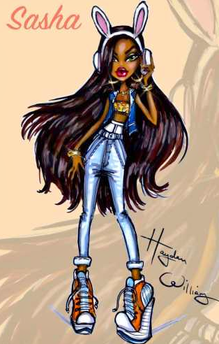 Sasha Bratz Collection By Hayden Williams Fashion Drawings