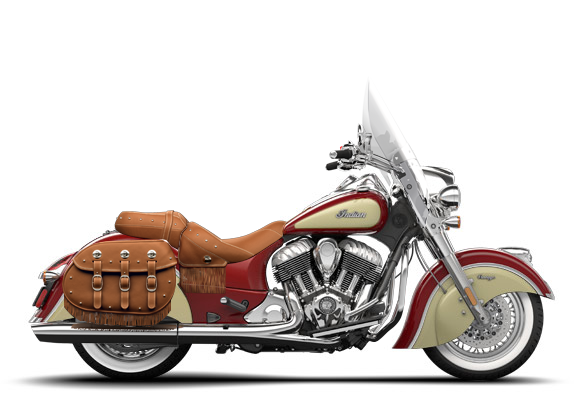 Indian Chief Vintage Red Ivory Cream Indian Motorcycle Indian Chief Motorcycle